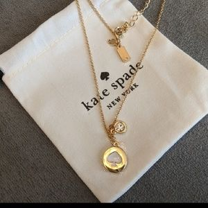 *NEW* Kate Spade gold plated necklace